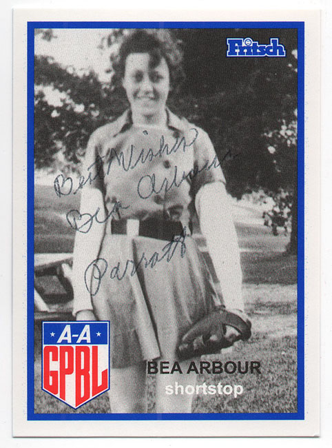 Aagpbl All American Girls Autographed Baseball Cards