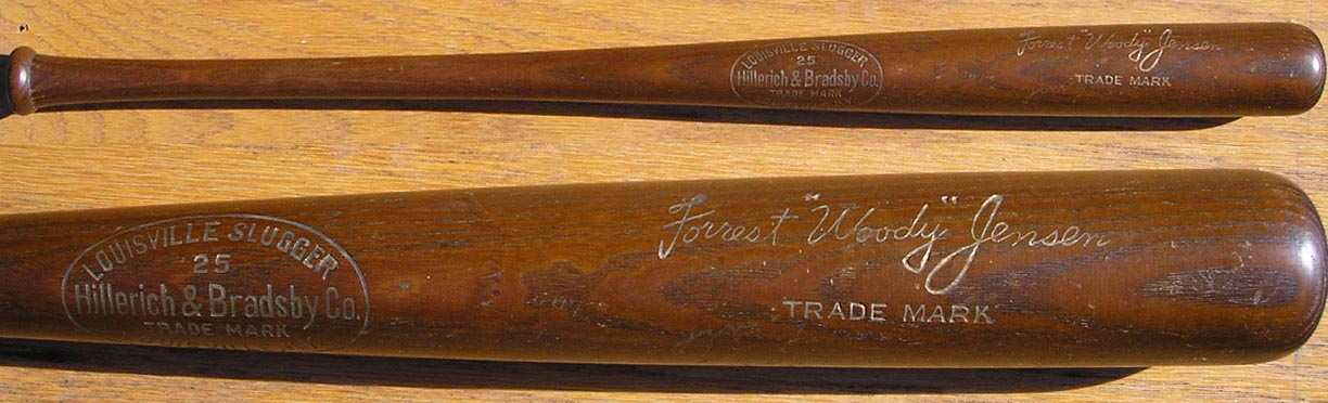 A Beautiful And Mysterious 22 Bat Has Numerous Signatures Of The 1940 World Champion Cincinnati Reds On Which I Do Not Think Are Authentic