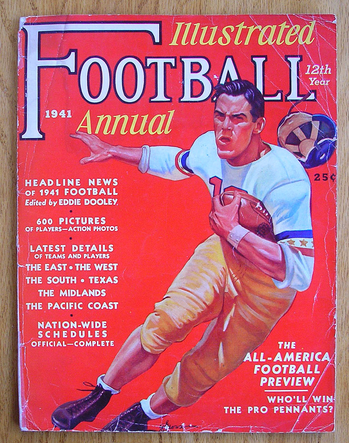 fb2ba474 One of nicest football publications of all time with countless photos,  articles, schedules and statistics from every college of every region in  the United ...