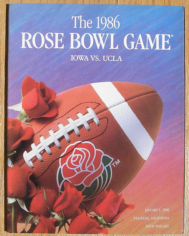 Vintage Football Bowl Game Programs And Pennants